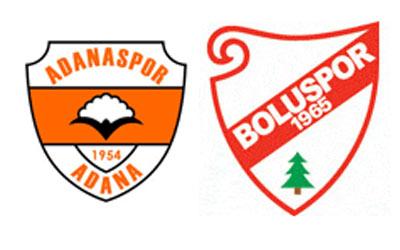 Adanaspor 1–0 Boluspor Ilk Yari Devam Ediyor. Canli Canli sürekli